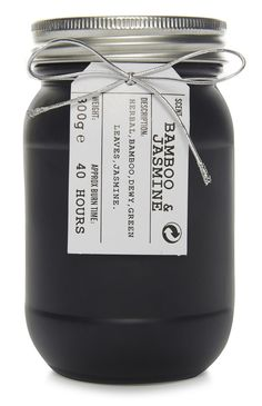 Primark - Black Jar Candle