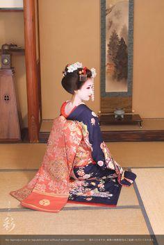 お座敷スタジオにて #maiko #kyoto