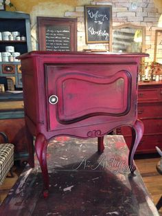 Annie Sloan Burgundy Absolutely gorgeous!