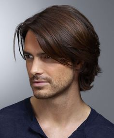 long hairstyles for guys with thin hair - Google Search