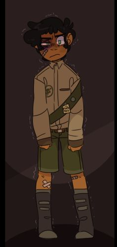 An AU if Max stayed with the woodscouts