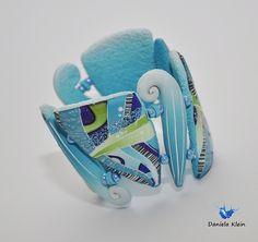 Tyrkisbracelet by Daniela Klein, polymer clay.