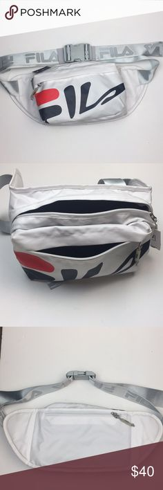 32c7cc0e7186 ... Waist Pack Fila Dawson Waist Pack Condition  Excellent- New with tags  Flaws  blue color came off a bit on the letter F