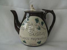 Cumnock teapot. Lucky Susan.