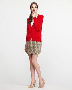 SHIPS FOR WOMEN'S オリーブ  カモフラタックタイトスカート
