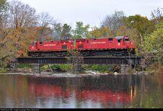 RailPictures.Net Photo: ME 18 Morristown & Erie Railway Alco C424 at Rockaway, New Jersey by Steve Zachowski