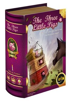 Amazon.com: The Three Little Pigs Board Game: Toys & Games