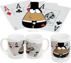 Taza Pou Frac Poker, taza de 77 mm x 85 mm, medidas interiores