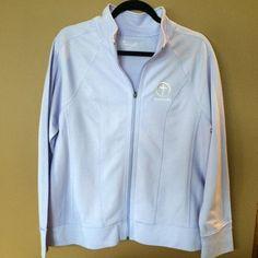Women's and Women's Plus Full Zip Mock Neck Sweatshirt