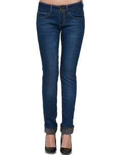 Camii Mia Women's Slim Fit Fleece Lined Jeans (31, Blue (827B-1))