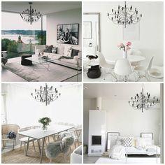 Scandinavian Sunday inspiration series: 2097 chandelier from Flos in stunning homes by IG users: charlottejardfor, via.johanna, mz.interior and coconutwhiteblog #nordicdesign #scandinaviandesign #modern #modernlighting #modernliving #moderninterior #modernhouse #modernhome #modernstyle #moderndesign #design #designinspo #interiordesign #homedesign #interiordesigner #professionaldesigner #homedesign #homedesigner #housedesign #designing #homedesigninspiration #lighting
