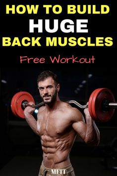How to build massive back muscles Food To Gain Muscle, Build Muscle Fast, Muscle Food, Wellness Fitness, Health Fitness, Healthy Detox, Detox Foods, Detox Tips, Muscle Building Workouts