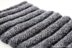 Inspiration for chunky cowl knitting project