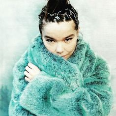 """""""Usually when you see females in movies they feel like they have these metallic structures around them they are caged in by male energy."""" - the queen of Iceland #eastmeetswest #bjork"""
