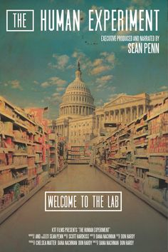 If you're a documentary-lover like us, The Human Experiment is an amazing find! Narrated by Sean Penn, you will find out some pretty interesting facts about our nation and how we approach health.