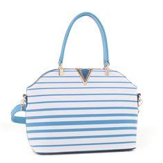 2016 Spring Collection Designer Inspired Striped Handbag