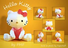 Make a Hello Kitty Papercraft! CUTE!