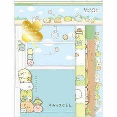 San-x Sumikko Gurashi Letter set (train) ★ corner walk ★
