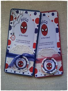 invitaciones spiderman Merbo Events2