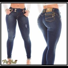 Imported Jeans from Brazil. Stunning & Chic The # 1 brand in Brazil Pit Bull Amazing Fit ! Unique designs Sizes available : Jeans Skinny Best Jeans For Women, Pants For Women, Sexy Jeans, Skinny Jeans, Perfect Jeans, Girls Jeans, Jeans Style, Plaid Pants, Cargo Pants