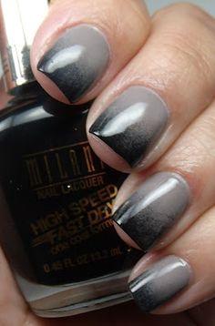 Grey and Black Gradient