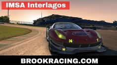 iRacing IMSA - Interlagos Ferrari 488 GTE 2017