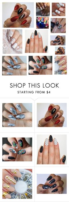 """Nail Art"" by loulucy17 ❤ liked on Polyvore"