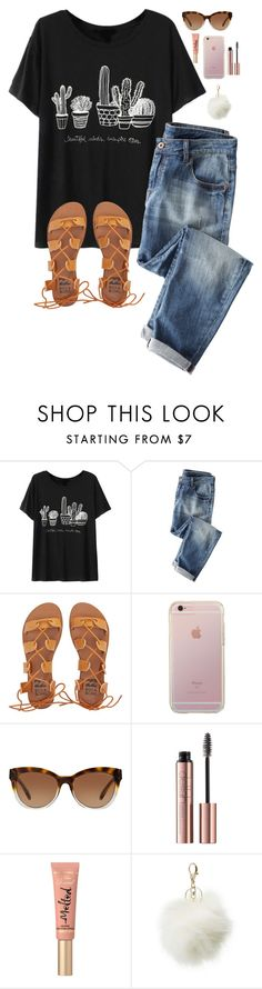 """""""Anyone have a VSCO account?"""" by oh-so-rachel ❤ liked on Polyvore featuring Chicnova Fashion, Wrap, Billabong, Michael Kors, Too Faced Cosmetics and Charlotte Russe"""