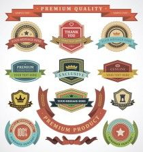 Premium Quality Labels | Free Vector Graphic Download - Part 2