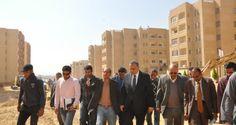 مدارس ومستشفى ومراكز تجارية لمشروع إسكان المحافظة بـ 6 أكتوبر البدء فى تسليم وحدات المرحلة الثالثة نهاية مارس بإجمالى 5892 وحدة سكنية | بوابة صعيد مصر الإخبارية