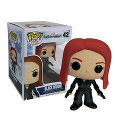 Captain America 2 Black Widow Pop Bobblehead