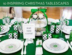 Eye Candy: 10 Inspiring Christmas Tablescape Ideas