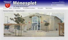 Commune de Ménesplet - Village de Dordogne en Périgord Blanc     - Ménesplet, Dordogne, Aquitaine