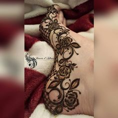 Leg Henna Designs, Wedding Henna Designs, Latest Bridal Mehndi Designs, Mehndi Designs Feet, Khafif Mehndi Design, Floral Henna Designs, Arabic Henna Designs, Mehndi Designs For Girls, Modern Mehndi Designs