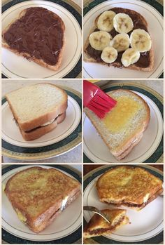 Dessert Recipes Easy For A Crowd - New ideas Breakfast Snacks, Breakfast Recipes, Snack Recipes, Dessert Recipes, Cooking Recipes, Yummy Breakfast Ideas, Easy Food Recipes, Nutella Breakfast, Nutella Pancakes