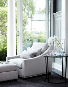 Reading chair - vignette - styling - bedroom or living room