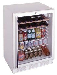 #Summit SCR600 series is a high quality under-counter glass door #all-refrigerator with a front mounted lock and fully automatic defrost. It meets ANSI-NSF standa...