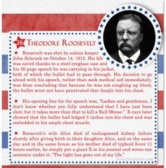 Over 100 Fascinating Facts About U.S Presidents Past and Present : Facts About US Presidents Theodore Roosevelt Check Out Part 1 of This Post Here Presidents Wives, American Presidents, American Soldiers, Republican Presidents, Us History, Women In History, British History, Ancient History, Theodore Roosevelt Facts