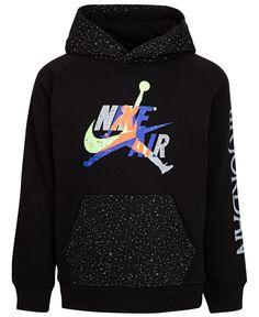 Jordan Little Boys Jumpman Classics Fleece Hoodie - Black Fleece Hoodie, Hoodie Jacket, Nike Outfits, Fashion Outfits, Swag Outfits, Nike Clothes Mens, Trendy Hoodies, Boys Hoodies, Boys Summer Outfits