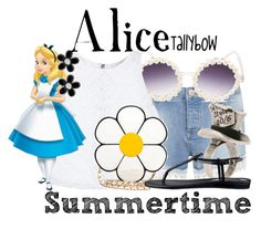 """""""Alice"""" by tallybow ❤ liked on Polyvore"""