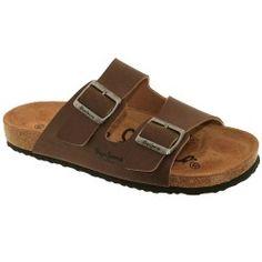 PEPE JEANS - Sandales marrons
