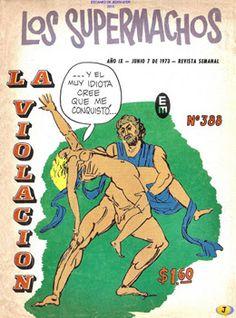 Comics Mexicanos de Jediskater: Reactivado: Los Supermachos No. 388, La Violacion,...