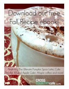 Free E-Book - KCup Fall Recipes