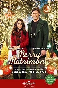 """Its a Wonderful Movie - Your Guide to Family Movies on TV: Hallmark Channel Christmas Movie """"Merry Matrimony"""" Marry Me At Christmas, Romantic Christmas Movies, Kids Christmas Movies, Classic Christmas Movies, Hallmark Christmas Movies, Christmas Wedding, Holiday Movies, Black Christmas, Cozy Christmas"""