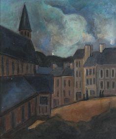 Vue de village by Max Jacob