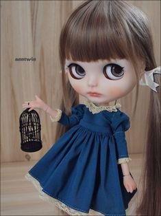 OOAK Custom Blythe Doll 'Chloe' by anntwin | eBay