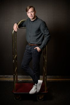 David Kross Photos - Actor David Kross poses at the 'Trautmann' portrait session during the 14th Zurich Film Festival on October 01, 2018 in Zurich, Switzerland. - 'Trautmann' Portraits - 14th Zurich Film Festival David Kross, Zurich, Film Festival, Switzerland, October, Normcore, Portraits, Poses, Actors