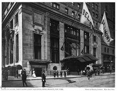 The Hotel Belmont designed by Warren & Wetmore c. 1906.