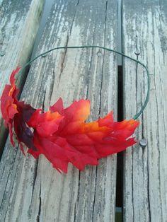 easy wreath headband tutorial