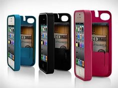 Eyn Products, Unique iPhone 4 Cases http://www.thegrommet.com/best-sellers/iphone-storage-case-by-eyn